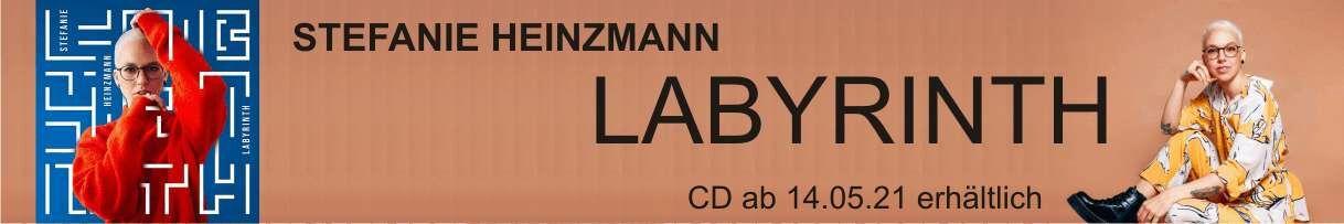 Neues Album von Stefanie Heinzmann: LABYRINTH