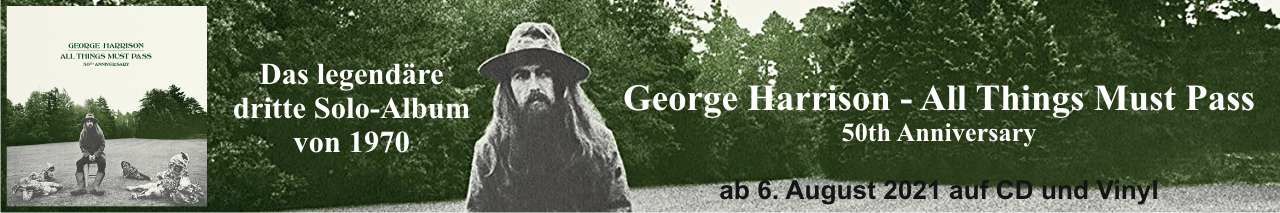George Harrison - All Things Must Pass 50th Anniversary