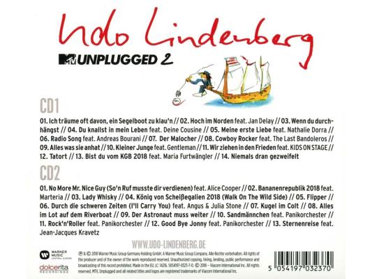 Lindenberg Udo - Mtv Unplugged 2-Live Vom Atlantik (2CD ...