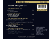- British Oboe Quintets (Nicholas Daniel / Doric String...