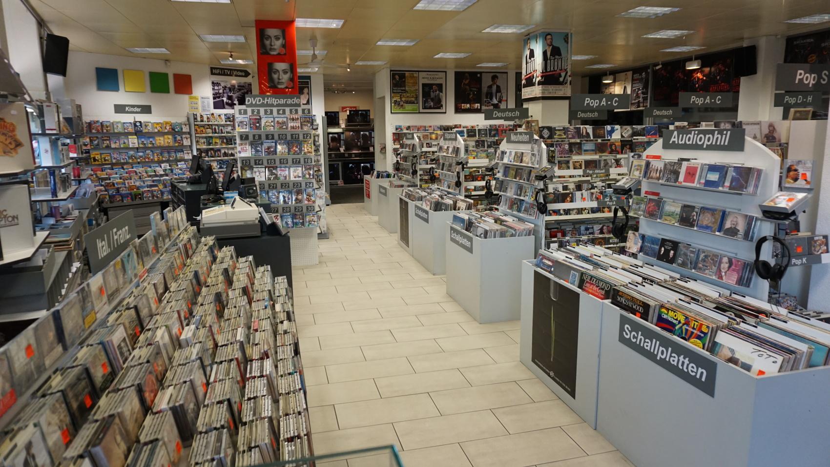 CD, DVD, Vinyl