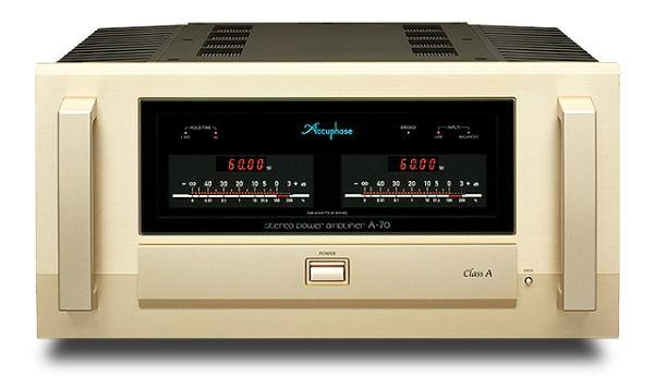 Accuphase A-70 – Testbericht Hifi & Records 01/2015