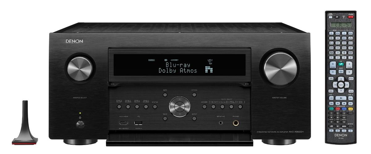 Denon AVC-X8500H – 13.2-Kanal Heimkino-AV-Receiver im Test (Audiovision März 2018)
