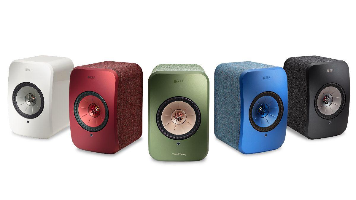 KEF LSX Wireless Aktiv-Lautsprecher