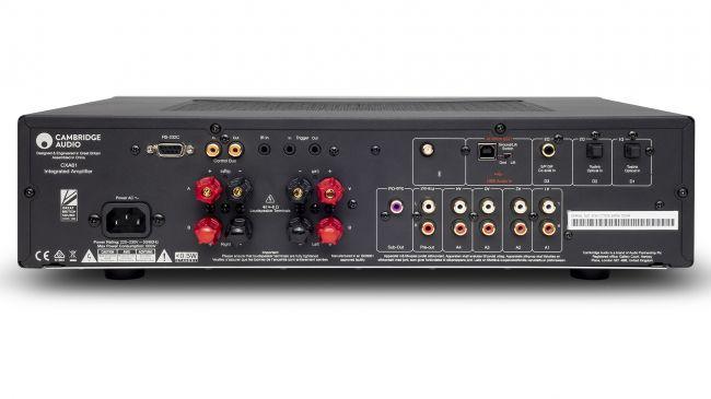 Cambridge Audio CXA 61 Anschlüsse