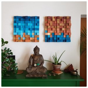 Wanddekor und Akustikelement Beispiel 1