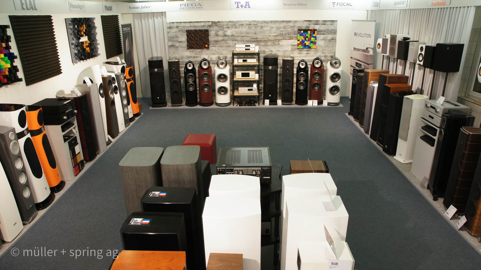 Lautsprecher highend Raum