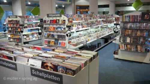 LP, CD Gesteller